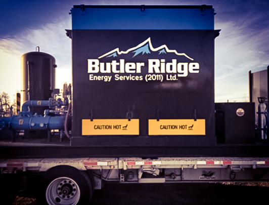 Butler Ridge equipment